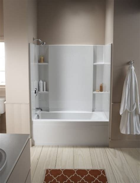 kohler bath shower combo best 25 acrylic shower walls ideas on acrylic