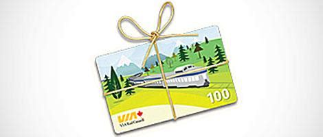 Via Rail Gift Card - via pr 233 f 233 rence be inspired sign in to discover personalized offers from via