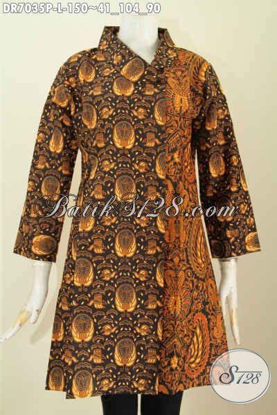 desain baju batik solo dress batik solo nan berkelas baju batik masa kini motif
