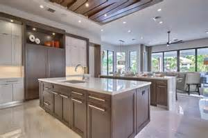 Modern Kitchen Wood Cabinets by 53 High End Contemporary Kitchen Designs With Natural