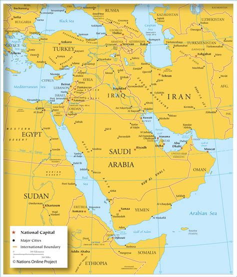 Western Asia Map by Map West Asia