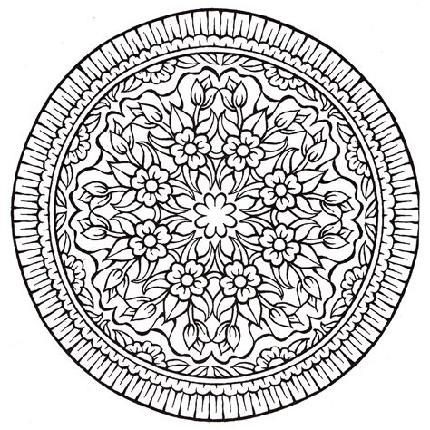 mandala coloring pages for relaxation color me happiness mandalas for relaxation herbalshop