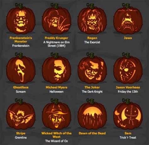printable pumpkin stencils pennywise stellar four geeky pumpkin carving patterns