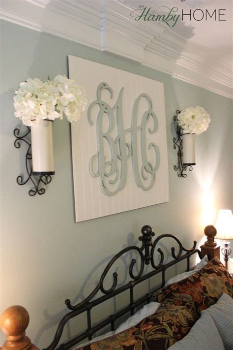 diy monogram wall art  hamby home   pinners