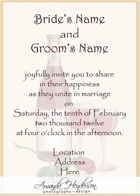 How To Determine Wording Of Wedding Invitations by Wedding Structurewedding Structure
