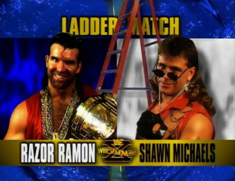 Razor Ramon Meme - wrestlemania record of heart break kid hbk shawn