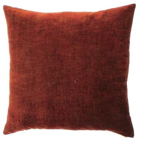 24 Throw Pillows by 24 Quot X 24 Quot Berlin Terracotta Throw Pillow Transitional