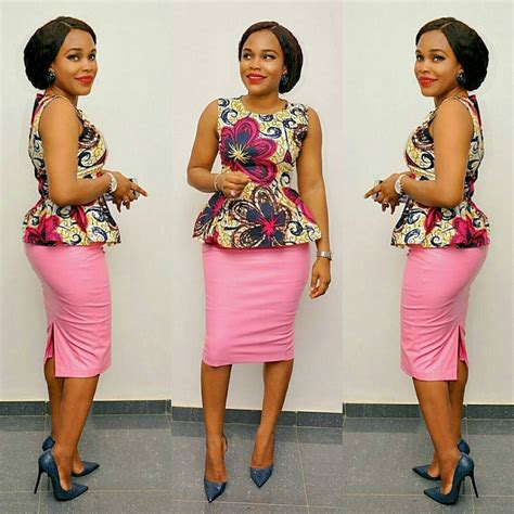ankara tops styles simple ankara styles top and skirt combinations dezango