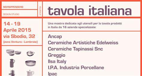 tavola italiana tavola italiana le clippe in mostra durante il salone