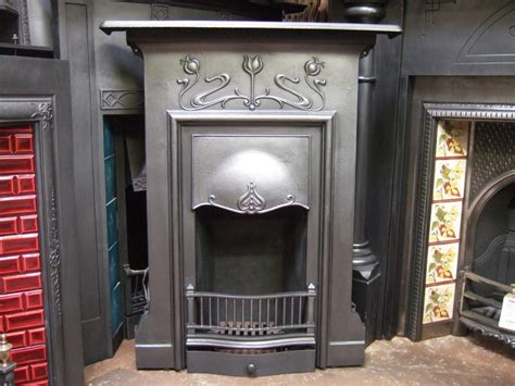 How To Fix A Cast Iron Fireplace To Wall by Nouveau Cast Iron Fireplace Emsworth 150mc