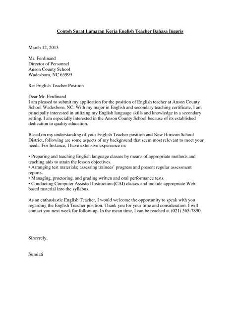 contoh surat lamaran kerja fresh graduate yang baik 12 contoh surat lamaran kerja bahasa inggris yang baik