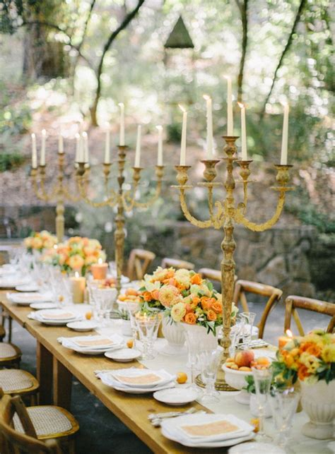 Wedding Table Ideas by Rustic Wedding In Napa Once Wed