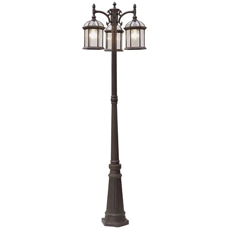 Post Light Fixtures L Post Light Fixture Outdoor Home Combo