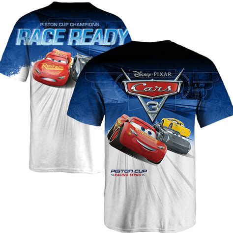 Blue Cars Mcqueen Race Hat Topi Anak Snapback Warna Biru Racing fanatics branded youth blue white cars 3 nascar t shirt