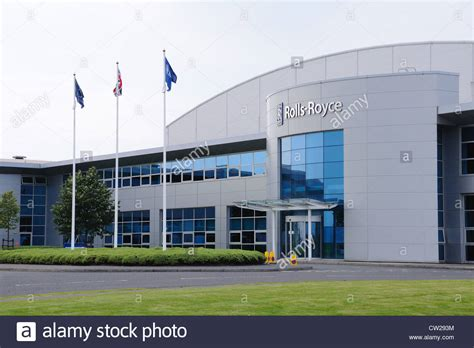 rolls royce uk locations rolls royce factory entrance in inchinnan near
