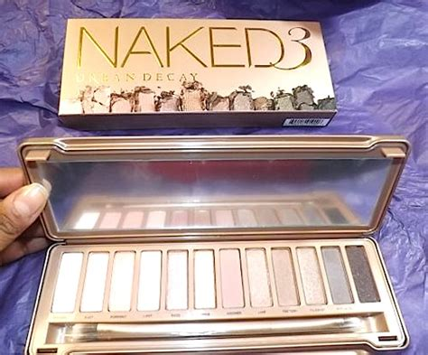 3 Eyeshadow Naked3 Terbaru New makeup review swatches decay naked3 palette 12