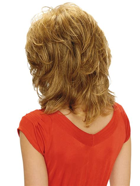 back viewof shag hairdstyles estetica designs michelle wig capless mid length layered