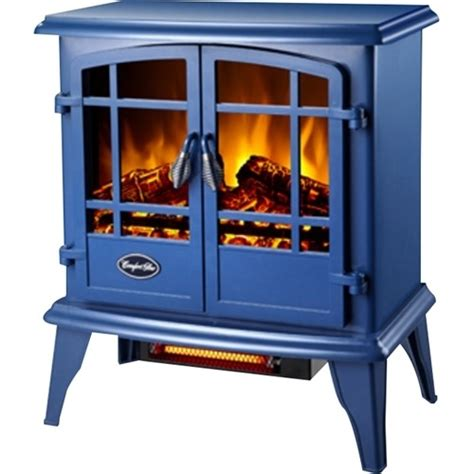comfort glow electric heater comfort glow keystone electric stove heater blue eqs133