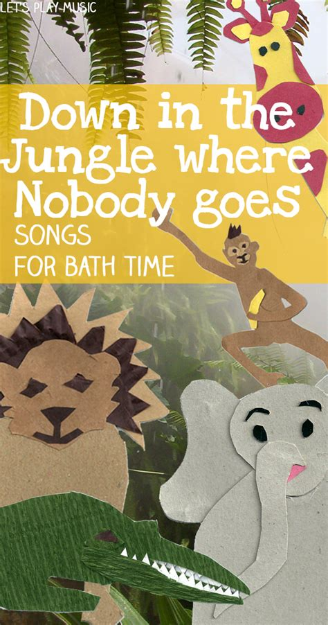 let s learn about jungle animals letã s learn about animals books in the jungle bath time song