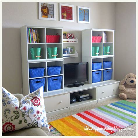 basement toys november before and after from thrifty decor