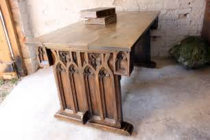 gothic style table ls gothic revival oak centre table in manner of pugin