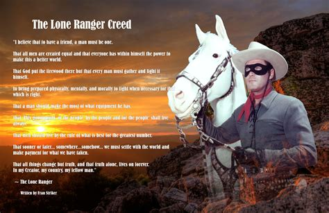 theme song lone ranger the lone ranger creed revisited my favorite westerns