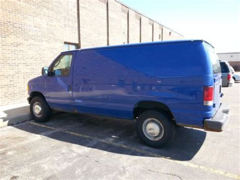 how does cars work 2004 ford e series engine control purchase used 2004 ford e250 cargo van 5 4l v8 in cincinnati ohio united states
