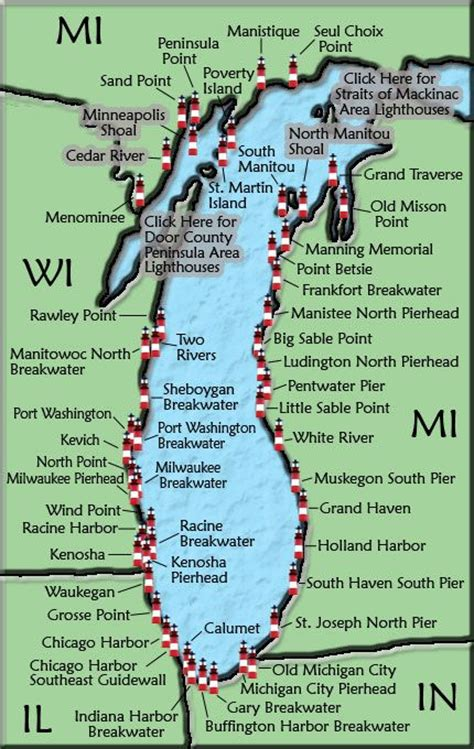 lake michigan map 213 best images about michigan on lakes pine and peninsula