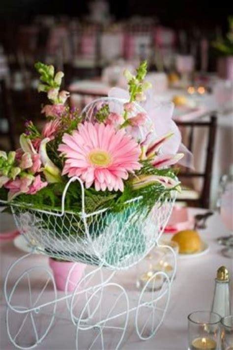 baby shower flower arrangements centerpieces 20 cutest girl s baby shower centerpiece ideas shelterness