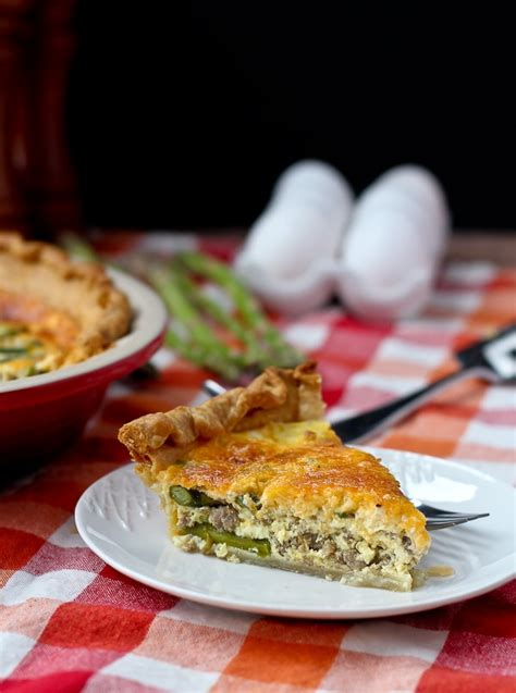 E Book Sausage Recipes For And Cooking With Sausage turkey sausage and asparagus quiche 600 3 of 5