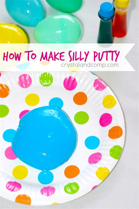 diy silly putty without borax silly putty with borax