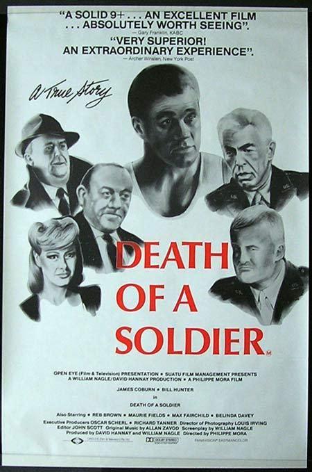 philippe mora e sport death of a soldier 1986 phillipe mora rare country of