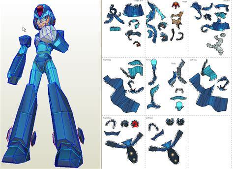 Megaman Papercraft - papercraft mega 8x coming soon