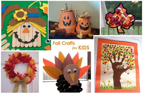 9 Fall Crafts For
