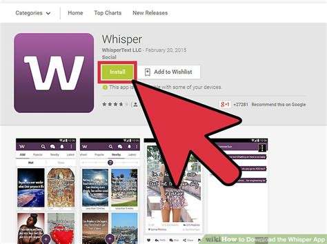 How To Search On Whisper How To The Whisper App 4 Steps With Pictures Wikihow
