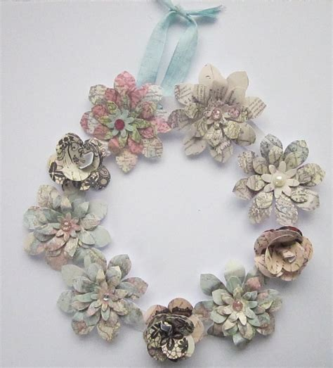 handmade wreath garland susan cards