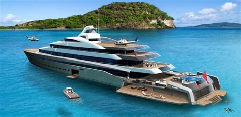 vip boat swim platform latest tony castro 120 metre superyacht concept revealed
