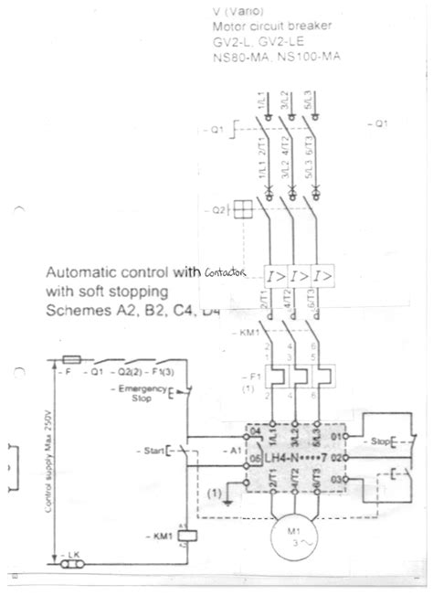 patent us6208111 motor starter arrangement with soft start