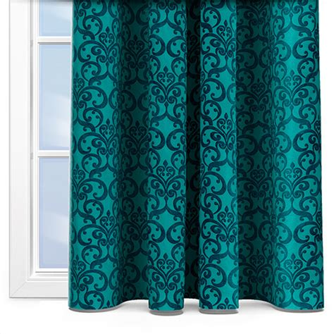 Vivan Curtain Inspiration Turquoise Bedroom Curtains Turquoise Grommet Cotenza Curtain Contemporary Curtains Fryetts
