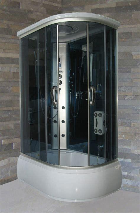 glass vasca vasca cabinata idromassaggio