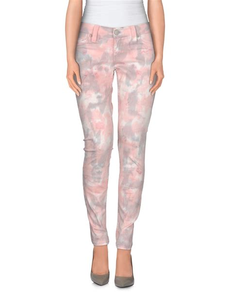 light pink chinos mens true religion denim trousers in pink light pink save