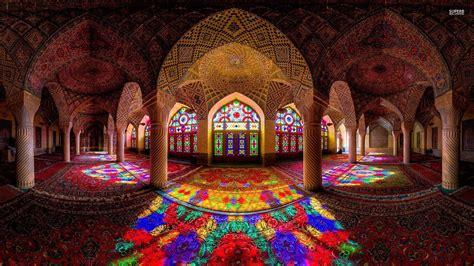 wallpaper 4k iran nasir al mulk mosque iran wallpaper