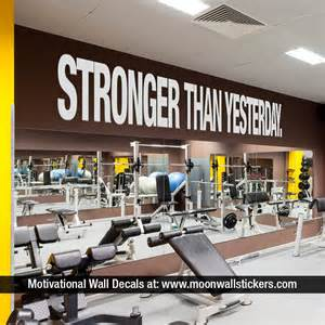 Gym Wall Murals inspirational quotes moonwallstickers com