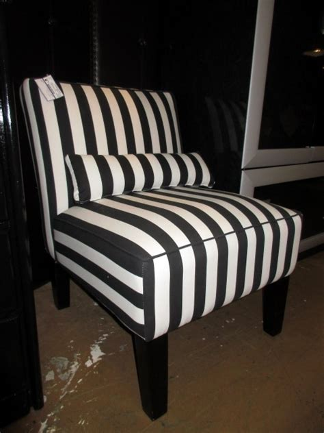 Striped Slipper Chair by Striped Slipper Chair At The Missing