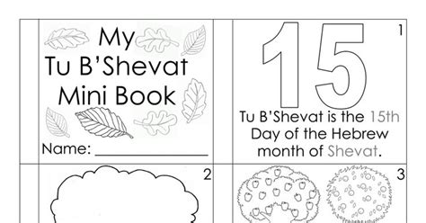 s snowy tu b shevat books my tubshvat mini book pdf crafts