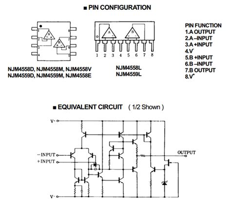 datasheet   pinouts circuit japan radio