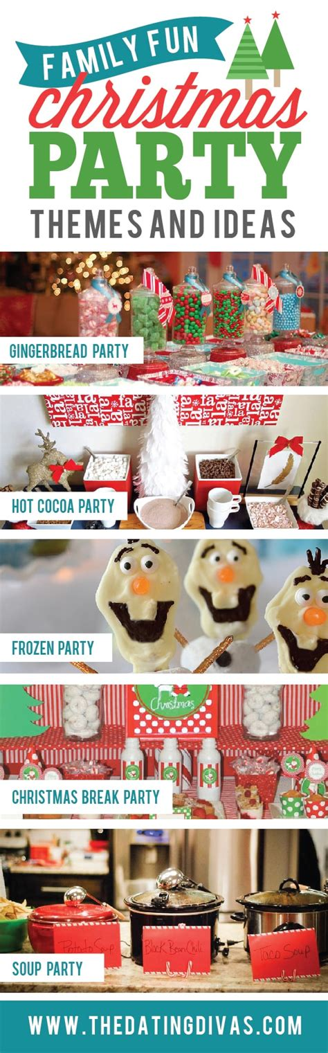 fun party themes 15 christmas party themes