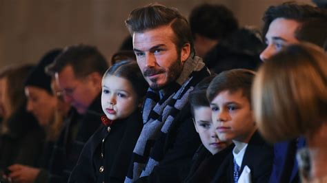 The Beckhams Are by What Is David Beckham S Net Worth And What Endorsements