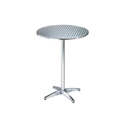 stainless steel top bar table chair hire co