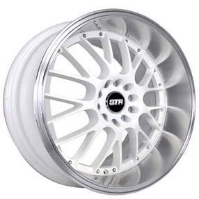 str wheels  white jdm style rims str